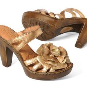 Born Flower Shoe Tiramisu - Size 6